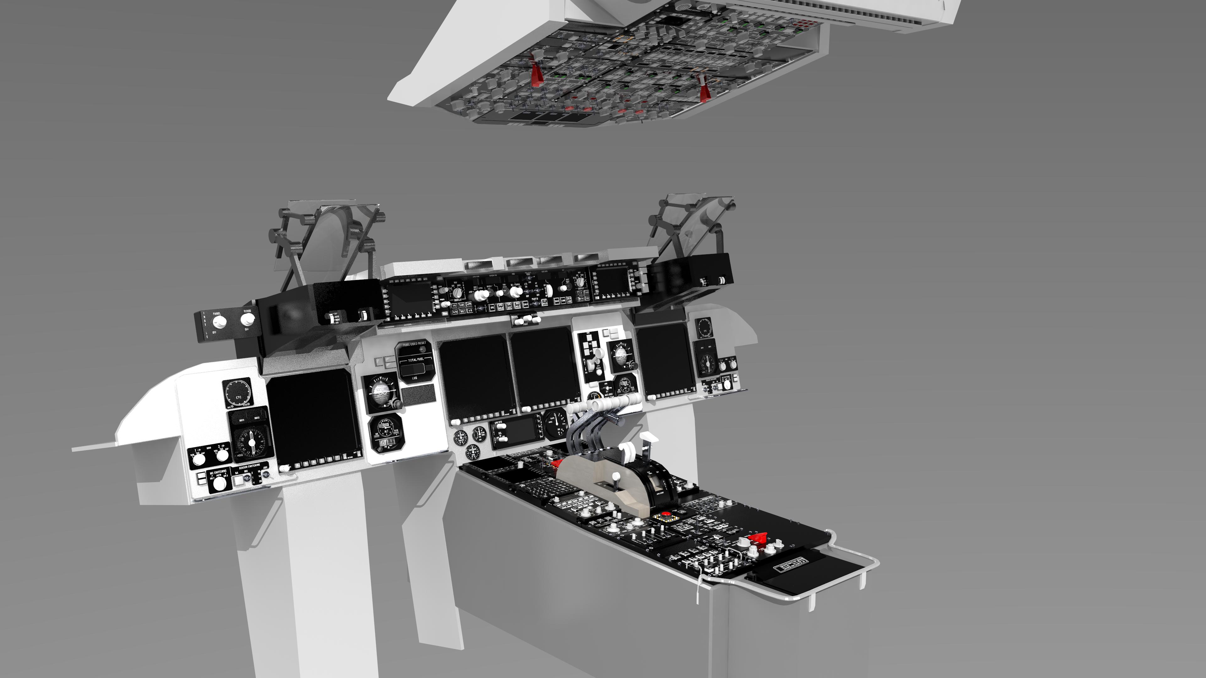 C-17 Cockpit Panels | Robert Graham's Personal Website