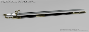 Royal Manticorian Naval Officer's Blade