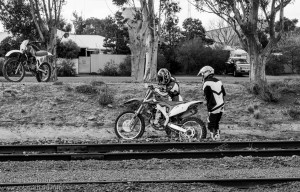 Teens Biking